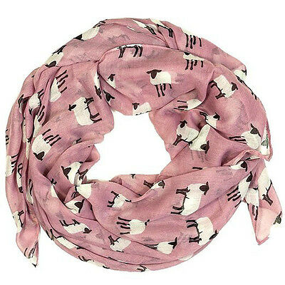 Women Fashion Long Print Cotton Scarf Wrap Ladies Shawl Girl Large Scarves Sheep