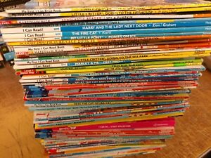 Lot-of-10-Level-1-RL-Ready-to-I-Can-Read-Step-into-Reading-Learn-Read-Books-MIX