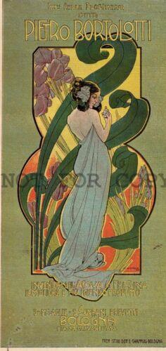 DUDOVICH WOMAN PARFUM Adv Art Nouveau original period print Magazine Cover c1900