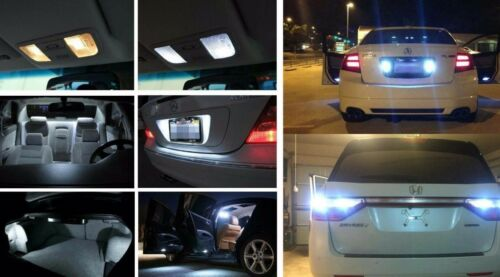 Fits 2008-2011 Scion XD Reverse 6000K HID White Interior LED Lights Package 11pc