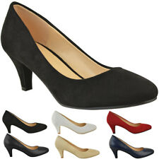 32870c77269 item 2 Womens Ladies Low Heel Court Shoes Comfort Work Office Formal  Wedding Size New -Womens Ladies Low Heel Court Shoes Comfort Work Office  Formal Wedding ...