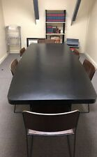 Black Conferencebreak Room Table For Sale 199 Obo