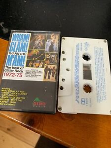 WHAM-GLAM-THANK-YOU-M-AM-THE-BEST-OF-GLITTER-ROCK-1972-75-CASSETTE-TAPE