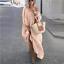 thumbnail 14 - Womens Oversize Long Sleeves Sloping Off Shoulder Loose Maxi Dress Fashion Plus
