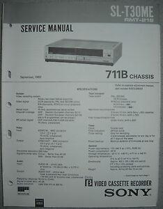 SONY-SL-T30ME-Service-Manual-inkl-Correction-1-2