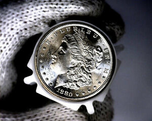 1878-s Blast White Unc Morgan Silver Dollar from a Original Roll Will Grade Out