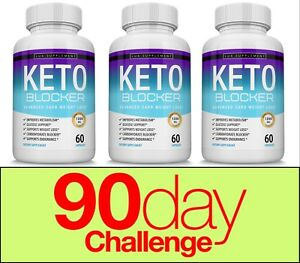 Keto-Blocker-Diet-Pill-1200-MG-Weight-Loss-Ketogenic-Fat-Burner-amp-Carb-Blocker