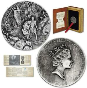 Creation-Adam-and-Eve-2-oz-999-silver-coin-Biblical-series-Bible-Story-2016