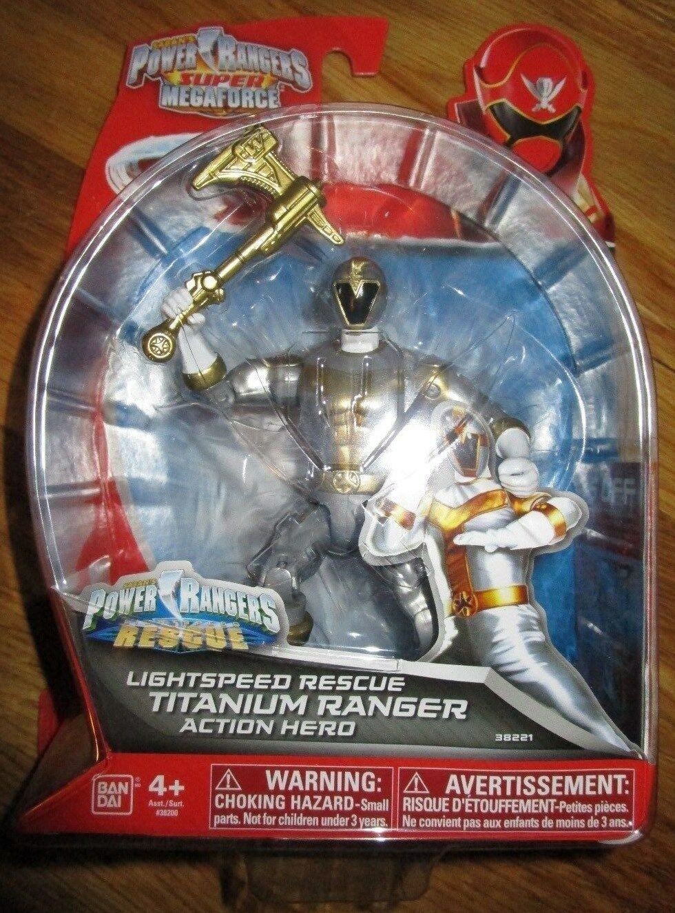 Power rangers super megaforce lightspeed rettungs - titan - ranger 38221 ryan