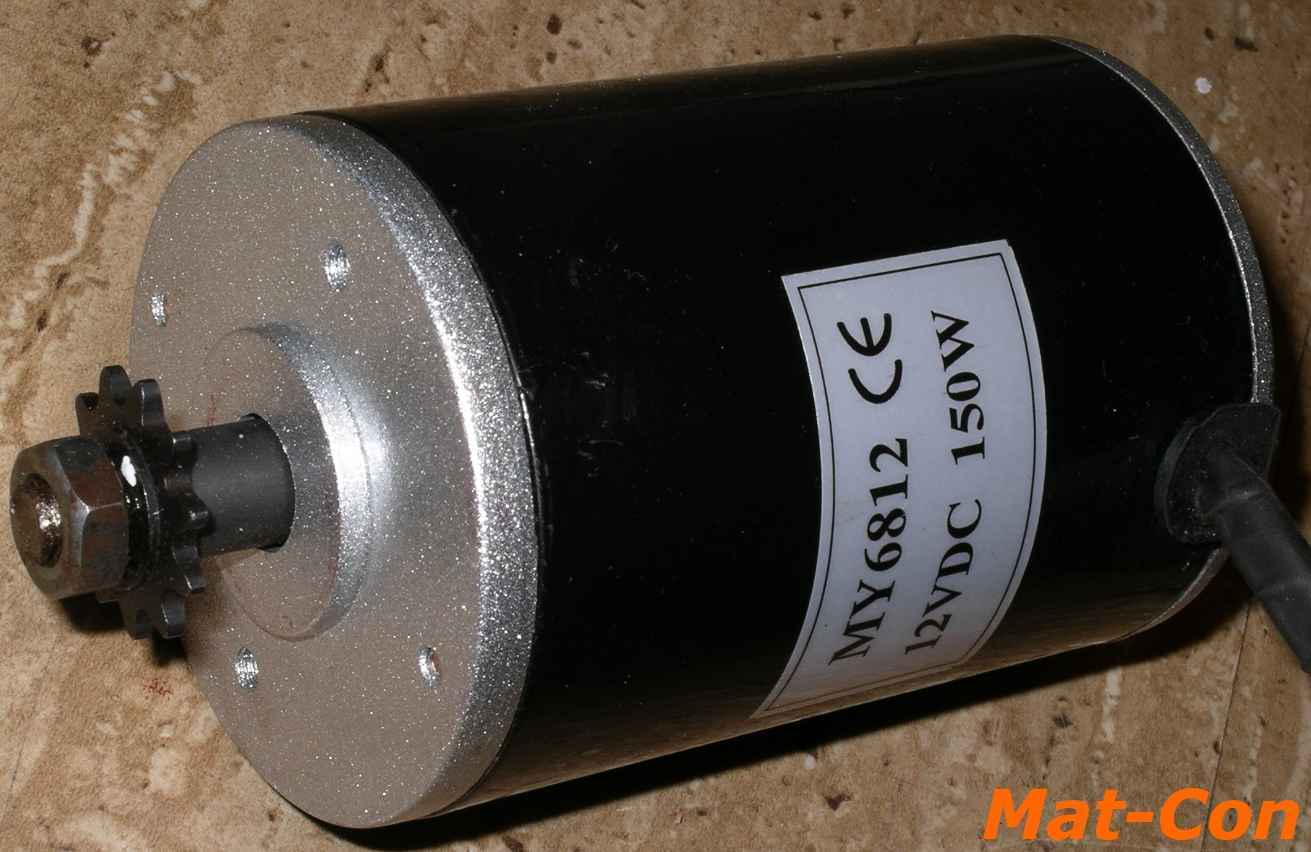 distribuzione globale MOTORE ELETTRICO unite my6812 150w 12v DC 0,56nm 2500rpm LxP LxP LxP 111x68mm PIGNONE Cinghia  economico