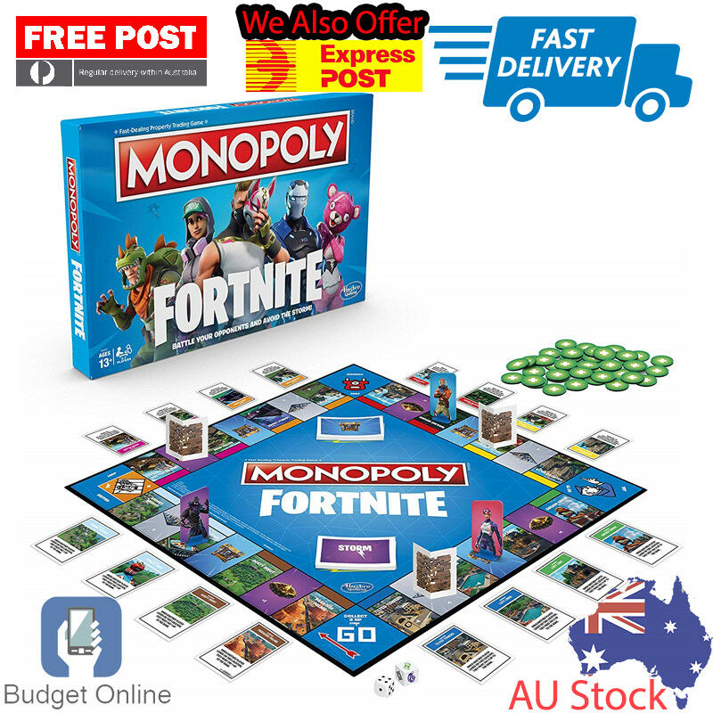 Monopoly Fortnite by Epic Games Special Edition Family Board Game Brand New