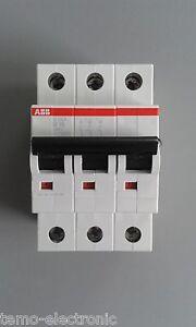 ABB-S203-B-oder-C-LS-Schalter-Sicherungsautomat-Leitungsschutzschalter-3-POLIG