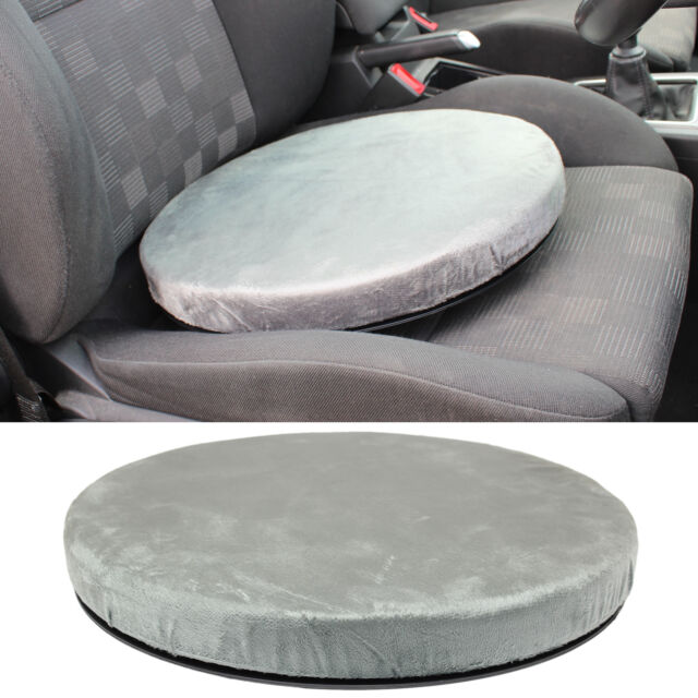ROTATING SWIVEL SEAT CUSHION DINING CHAIR CAR SPINNING MOBILITY AID PAD COMFY
