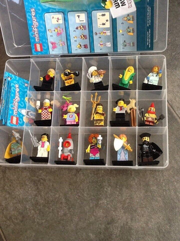 Lego minifigures series 17 - full set - 71018 - in case