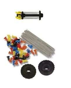 24 .40c Target Blowgun Darts & Dart Holder Kit by Venom Blowguns®  MADE IN USA
