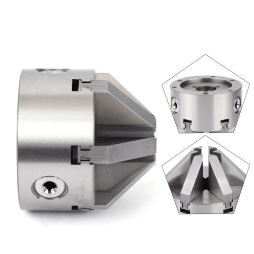 """K13-100 Steel Lathe Chuck 6 Jaw 4/"""" Self Centering Jaws for Drilling Milling CNC"""