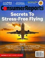 Consumer Reports Oct 2016 Secrets To Stress-free Flying Best & Worst Airlines