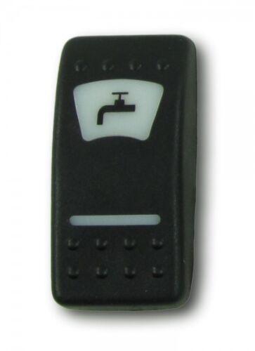Sdraietta icona pressione sistema idrico per Interruttore Pulsante Accensione Pannello BARCA YACHT 4665