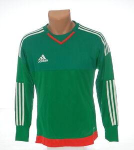 Adidas AdiZero Top 15 GK Green Long Sleeve GoalKeeper Jersey Youth ...