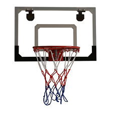 Mini Hoop Backboard Net Set with Basketball Indoor Outdoor Game Toy Kids Gift