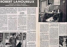 Coupure de presse Clipping 1976 Robert Lamoureux  (4 pages)