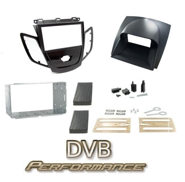 Connects2 CT23FD43 Ford Fiesta Mk7 08-en adelante Doble Din Kit De Montaje