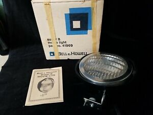 Vintage Bell & Howell Super 8 Movie Camera Light 46969 - Box & Instructions