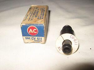 NOS-AC-PCV-Valve-1963-AMC-Rambler-6-cyl-196-OHV-Engine-CV611-6418476