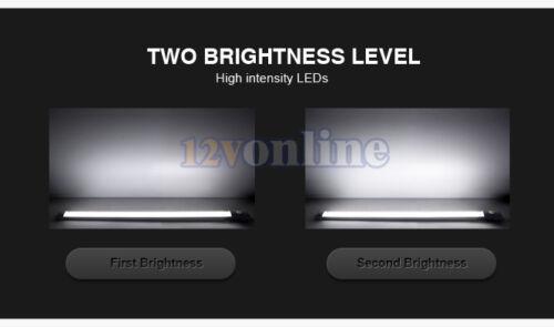 """LED 12V 17.7/"""" Under Cabinet//Counter Strip Light RV Coach Van Boat Kitchen Lamp"""