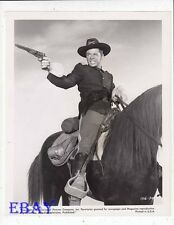 Audie Murphy on horse VINTAGE Photo Column South