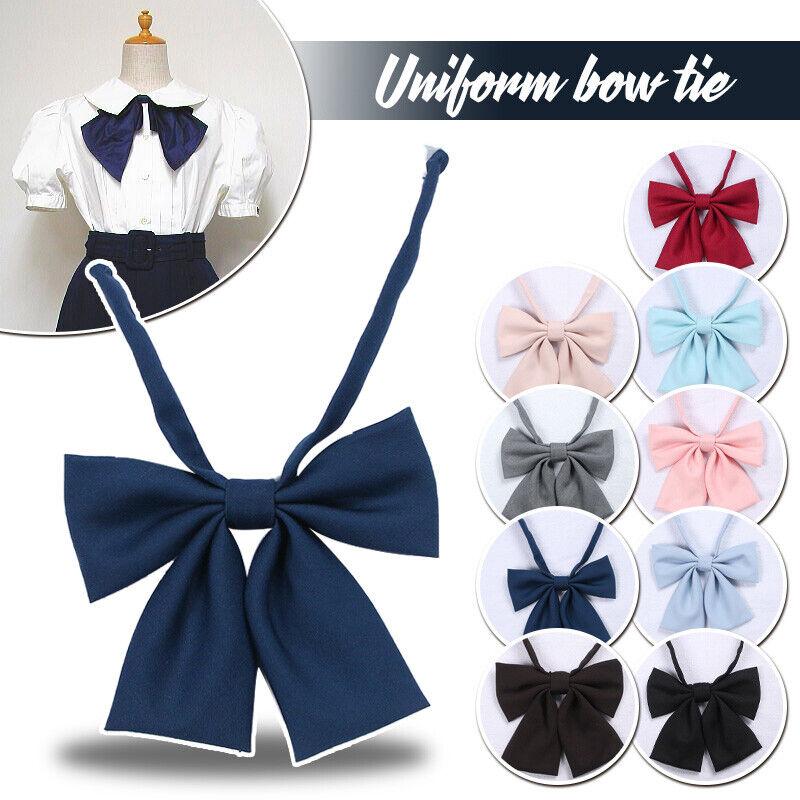 Multi Japanese Girls Jk Uniform Bow Tie Butterfly Cravat Sailor Suit Necktie