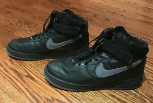 Details about Rare Nike Air Force 1 High Sneakers Shoes 2002 Black Grey 624038 002 Men's Sz 12