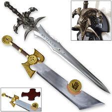 Frostmourne & Ashbringer Swords Craft WOW 1:1 Set Full World of Steel War King