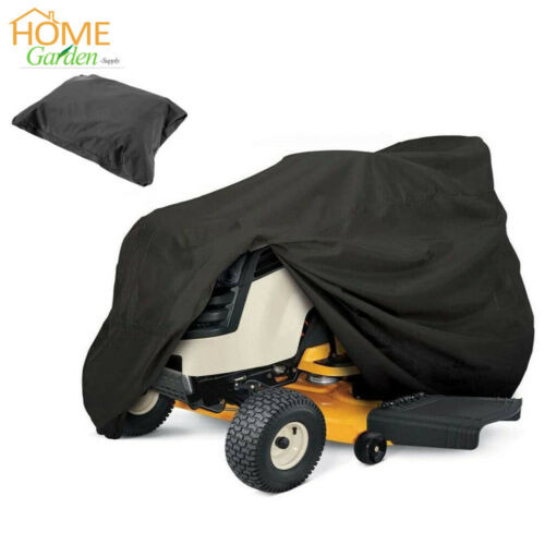 """54/"""" Garden Yard Lawn Mower Storage Cover Riding Tractor UV Waterproof Protector"""