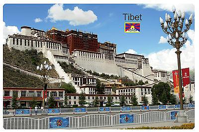 Fridge magnet vinyl ,Tibet Lhasa 1 souvenir, gift