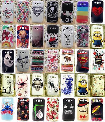 for Samsung Galaxy Grand Neo I9060 DUOS i9082 9082 Soft TPU Cartoon Cover Case