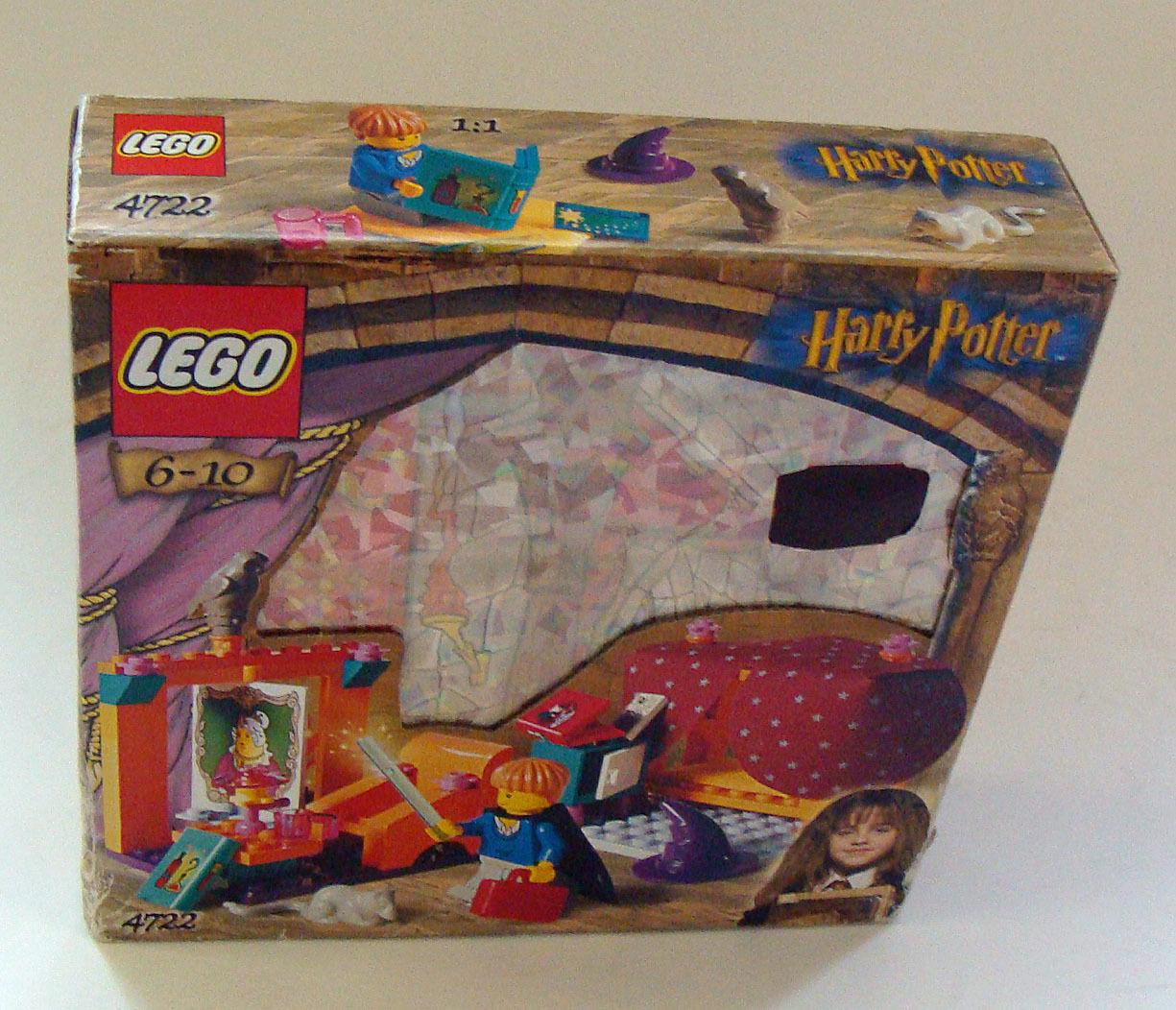 LEGO ® Harry Potter 4722-Grifondoro 65 parti 6-10 ANNI-NUOVO