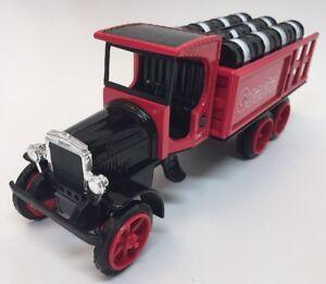 RARE-VTG-1-34-ERTL-DIECAST-1925-KENWORTH-STAKE-TRUCK-BARRELS-BANK-COASTAL-W-Box