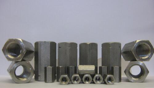 Acier Inoxydable Deep écrou allthread connecteur Stud Coupleur GR304 M16 16 mm 16 mm