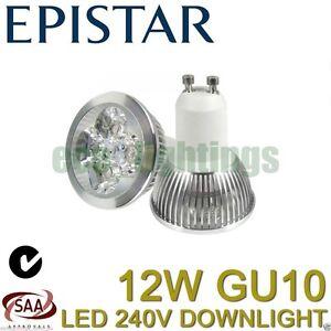 6-X-EPISTAR-LED-GU10-12W-bulb-downlight-spotlight-globe-lamp-Non-dimmable-240V