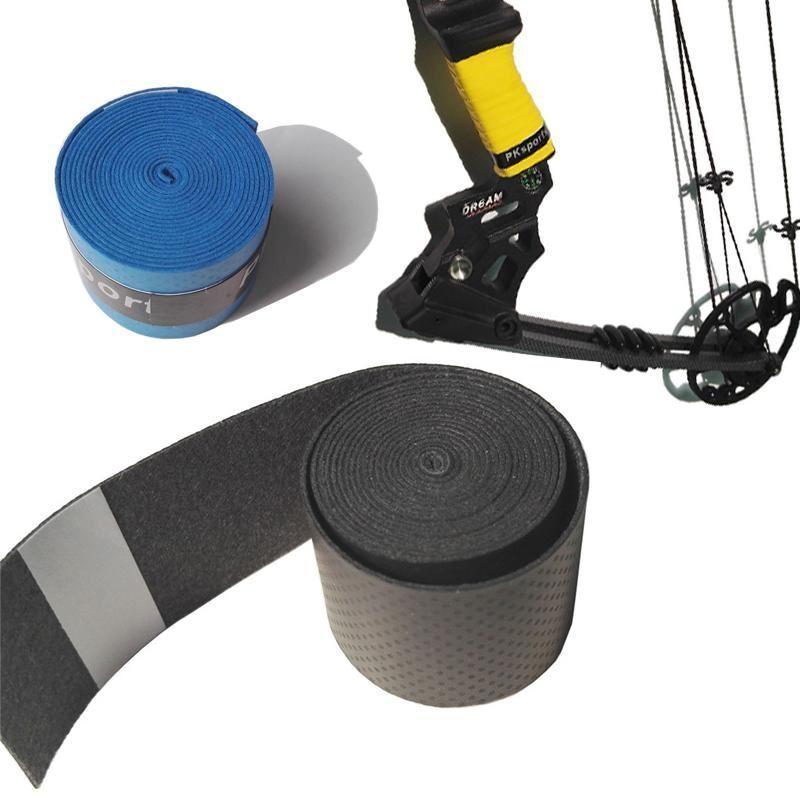 Tir à L'Arc Non-Slip Absorbent La Sueur Band Non-Slip L'Arc Extensible Poignée Grip Bow Riser ruban bande corde 255fc7