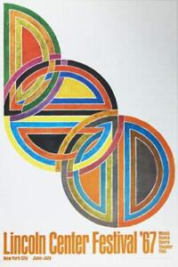 Lincoln-Center-Festival-1967-by-Frank-Stella-Offset-Lithograph-Art-Print-Poster