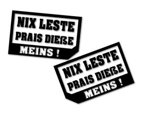 2x Nix verkaufen kein Verkauf - Aufkleber Autoaufkleber FUNNY decal 24 #8134