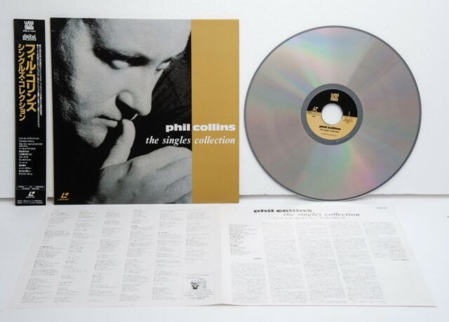 Phil collins the singles collection dvd