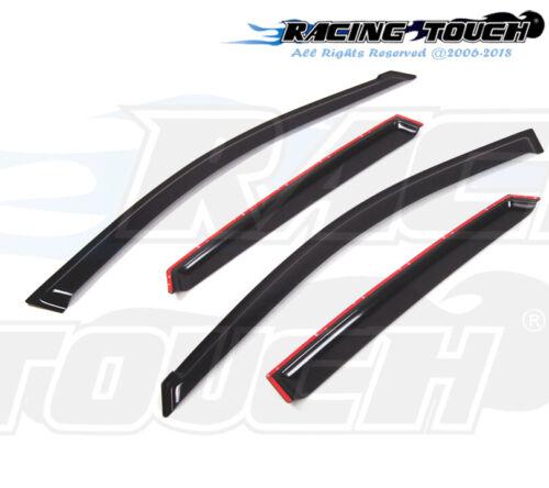 For Subaru Impreza Sedan 08-11 Dark Grey Out-Channel Window Visor Sun Guard 4pcs