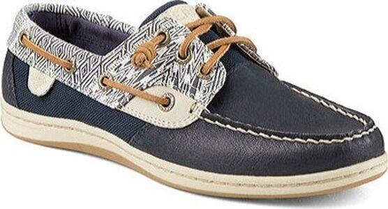 Sperry Top Sider Women's Songfish Native Geo Boat shoes 5M