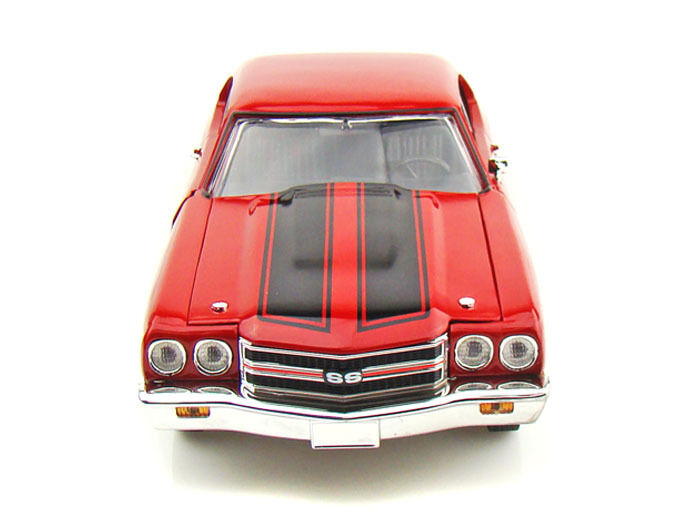 1 18 Johnny Lightning rosso 1970 Chevelle Fast and Furious Chevrolet Chevy 39578