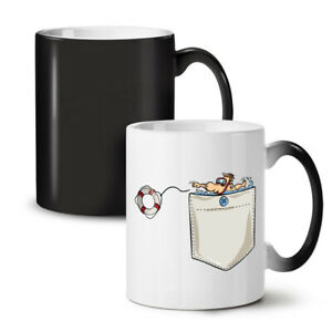 Save Life NEW Colour Changing Tea Coffee Mug 11 oz | Wellcoda