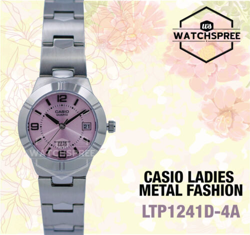 1 of 1 - Casio Classic Series Ladies' Analog Watch LTP1241D-4A