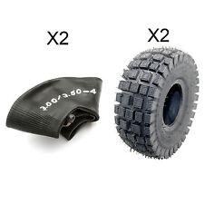 """2 Tyre InnerTube 3.00-4 Minimoto 3.50-4 Mini Moto Quad Bike 4"""" 4 Inch Midi ATV"""